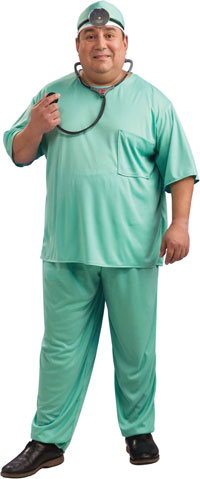 Plus Size Doctor Costume - Doctor or Nurse Costumes